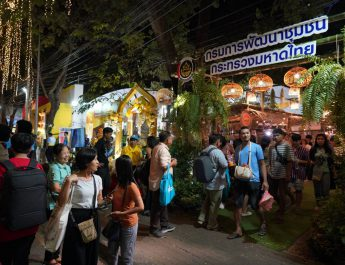 พช. ชูสินค้าชุมชนสู่เมือง ไปกับบรรยากาศร้านค้า OTOP Trader โชว์ห่วย ช่วยชุมชน ในงานกาชาด 2562