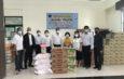 ปทุมธานี  เทศบาลเมืองบางคูวัดรับมอบเครื่อง อุปโภคบริโภคส่งต่อผู้รับผลกระทบโควิด