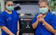 นครปฐม พยาบาลสาวสองแม่ลูกสุดระทึกเชื่อบารมีเหรียญหลวงพ่อพูลวัดไผ่ล้อมทำแคล้วคลาดอุบัติเหตุ
